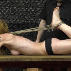 Rope bondage - The best bondage models - Insex crew vs. BoundCon models Katarina Blade and Muriel - Super tight bondage