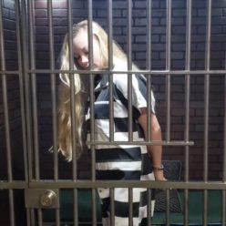 Inmate officer Lisa gets new uniform - Officer Lisa Arrested Part 2 of 3