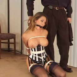 Rope Bondage - Andrea Neal tied up totally with ropes – Strict Design Part 1