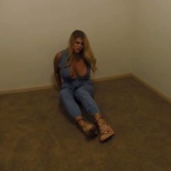 Metal bondage - Carissa Montgomery is arrested by bounty hunters with metal handcuffs Part 2 of 3