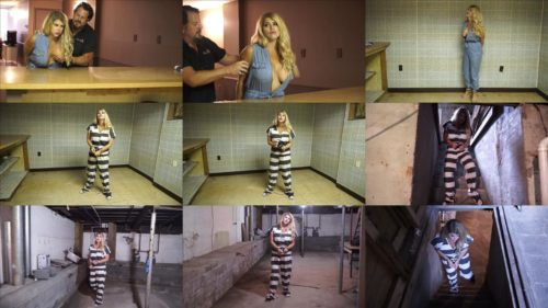 Metal bondage - Carissa Montgomery is arrested by bounty hunters with metal handcuffs Part 3 of 3