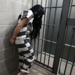 Prisonteens - Girl Gang band are arrested and put on new outfits,shackles,handcuffs - Part 4 of 4