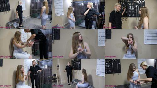 Cuff bondage - Riley Renee in Handcuffs - Cuffed Tour