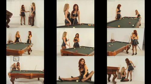 Female bondage - Sasha Monet and Amber Michaelsdecide to play a bondage game -  Pool Party – Chapter 1