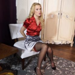 Ariel Anderssen is arrested at a hotel - Put handcuffs on - Part 1 of 3