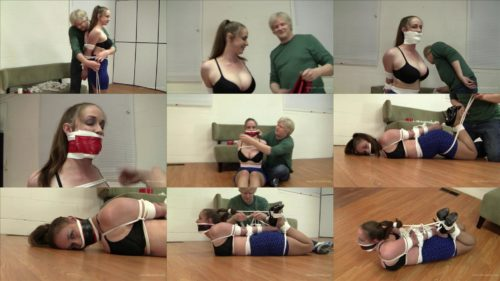 Sexy package - Pepper loves be tied with rope - Rope Bondage – Lots of ropes for heavy hogtie