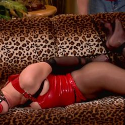 Helpless Chrissy Marie is bound with a tight crotchrope – So Sensitive