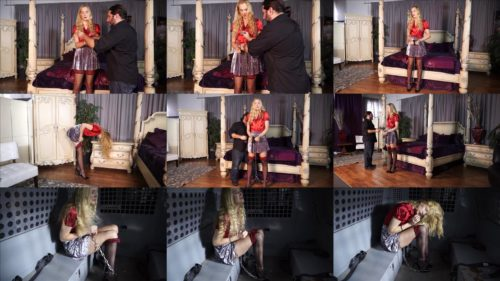 Ariel Anderssen is arrested at a hotel - Put handcuffs on - Part 2 of 3