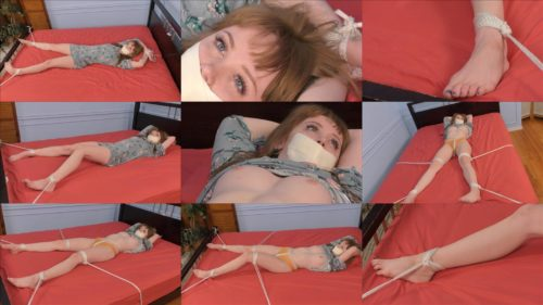 Rope bondage - Nikole-Napped! – Nikole Nash American Damsels Network - Our bound and gagged sweetie struggles