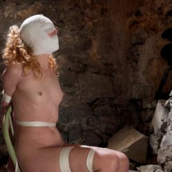 Ariel Anderssen – Bitchy Brit gets bound comeuppance, cinched and secured -Bound fully nude to a chair