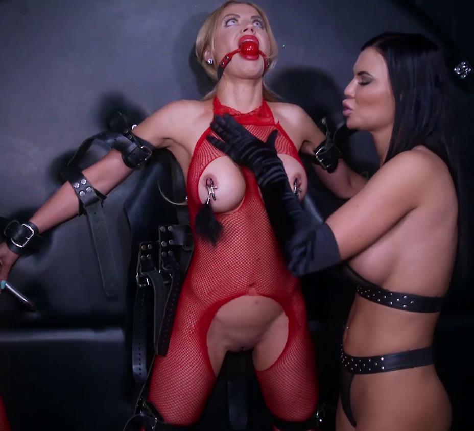 Lesbian bondage - Jasmine's Birthday Torment - Boundhoneys - Female bondage - Strict bondage