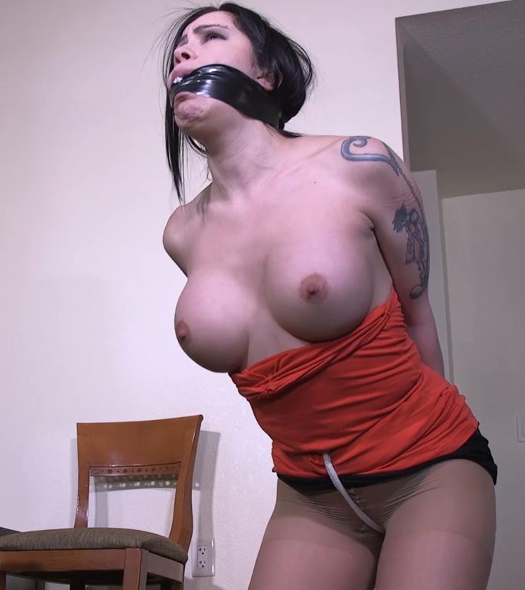 Rope bondage - Gndbondage Cassandra Cain – I have your girl friend all tied up! - Idea of kinky bondage games