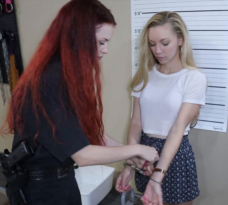 Metal bondage - Prisonteens Officers is arrested Part 2 of 3