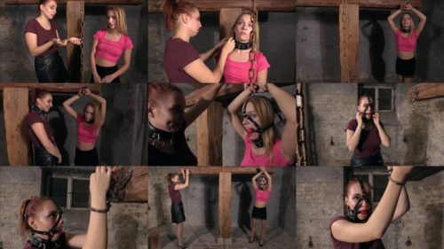 A special preference - Edda and Magda enjoys being tied up and gagged – Zum fesseln uberredet 1