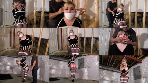 Rope bondage - Jenna Holloway is bound and gagged – Full figured wife gets her way