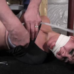Tie up with plastic zip ties - Enchantress Sahrye – Runaway Girl kept zip tied and gagged in his basement - Zip ties very tight tight