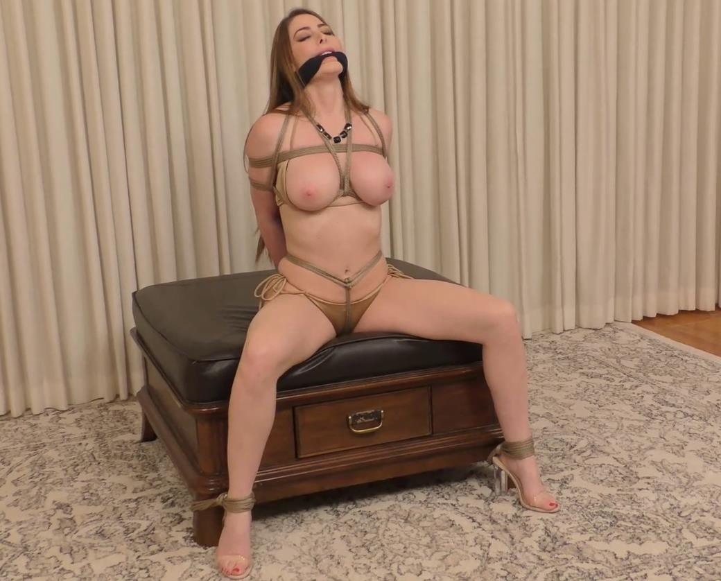 Rope bondage - American Damsel's Nightmare – Brianna Rose Bondage - Beauty queen Brianna Rose is bound and gagged