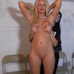 Prison bondage - Gotcuffs - Christina Skye in trouble - Part 1 of 2 - Female bondage