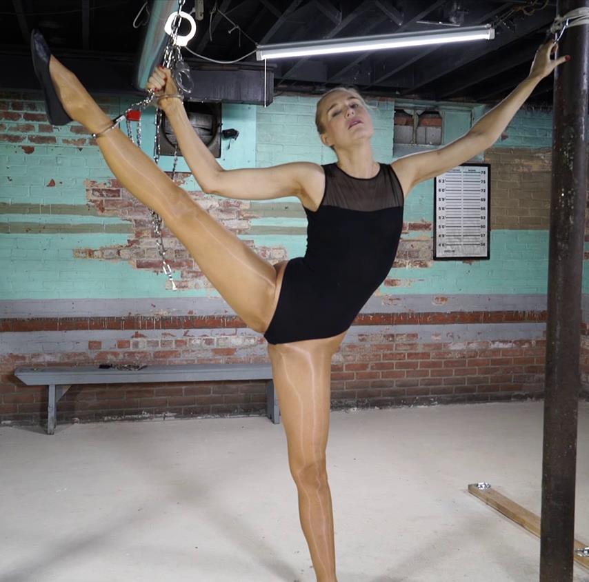 Handcuffs Bondage - Ariel Anderssen - Ballerina is arrested Part 1 of 2