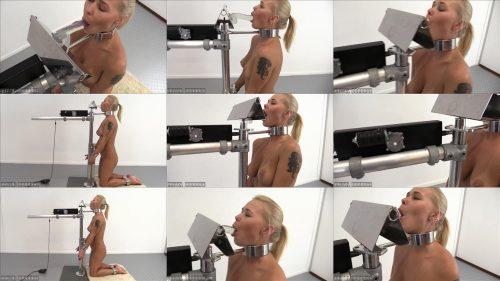 Test new  bomdage equipment - Darina Nikitina – The Blowjob Machine!