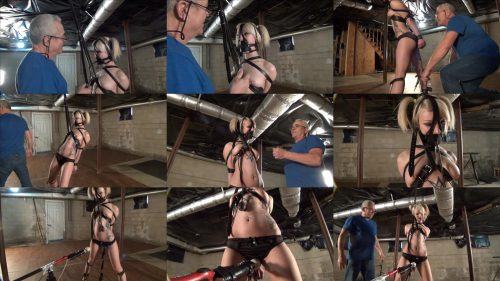 Be bound tightly in leather and gagged - Trip Six To Tough to Cum - Leather Bondage - Be forced - Bondage Orgasm