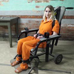 Handcuffs bondage - Lexi Warrior is bound tightly - First arrest part 5 of 5
