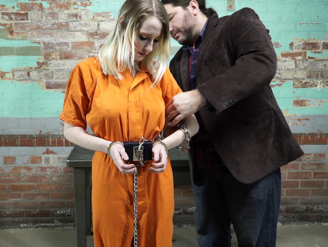 Handcuffs bondage - Lexi Warrior is bound tightly - First arrest part 4 of 5