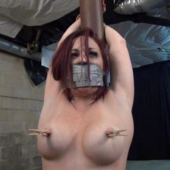 Tape bondage - Sarah Brooke a time for goodbyes - Lewrubensproductions - Rope bondage