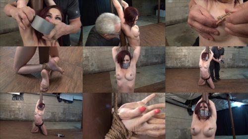 Tape bondage - Sarah Brooke a time for goodbyes - Lewrubensproductions - Rope bondage