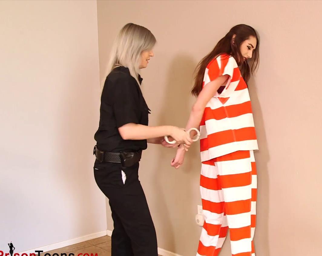 Handcuffs bondage - Serenity is arrested for manslaughter - Metal bondage