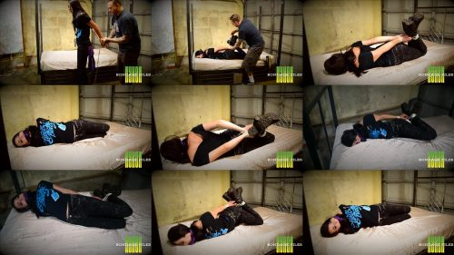 Rope bondage - Vesper Luna is a bit confused and hogtied with tight rope - Groupie Gets Tricked