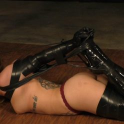 Extreme bondage - Isean is bound tigtly - Fetish with tight tape bondage - Enjoy tape bondage