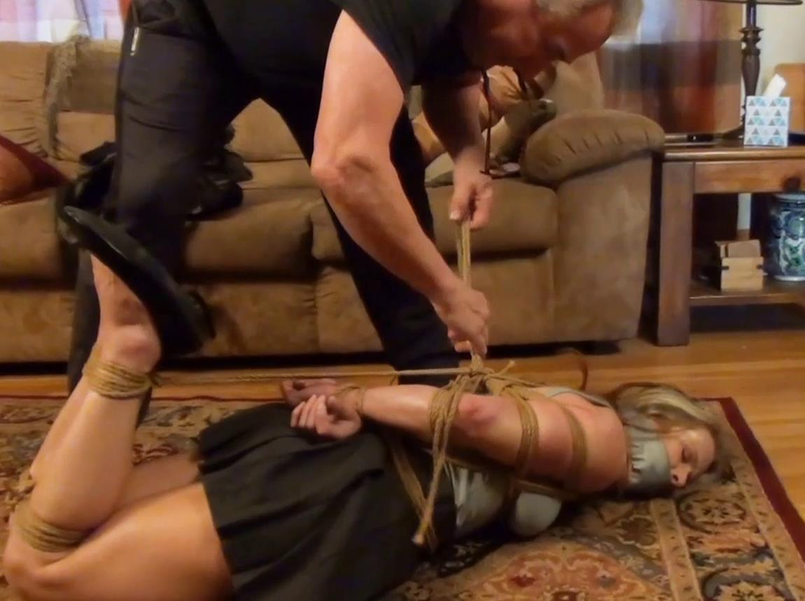 Extreme bondage - Claire Irons in Hubbys Fault - Part 1 of 2 - Lewrubens - Rope bondage