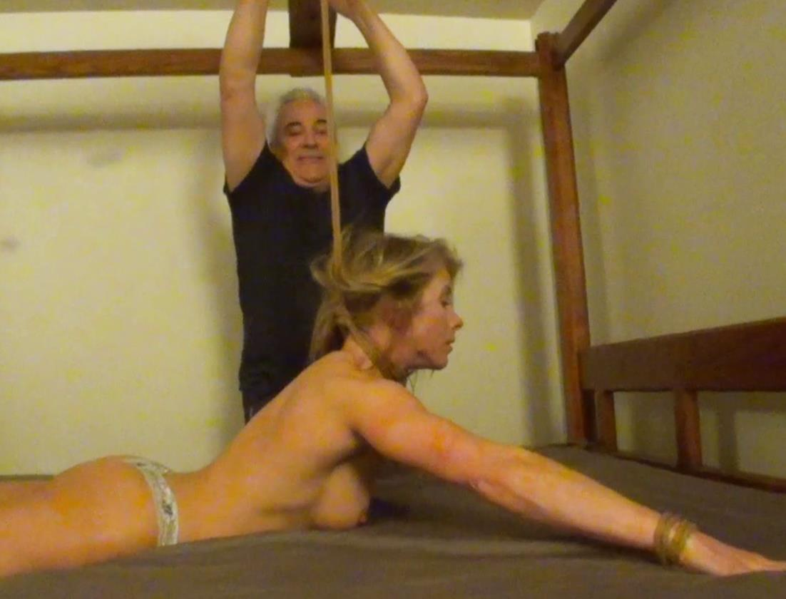 Bondage predicaments - Extreme bondage - Claire Irons in Hubbys Fault - Part 2 of 2 - Lewrubens - Rope bondage