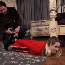 Handcuffs bondage - Lexi Warrior is bound tightly - First arrest part 1 of 5