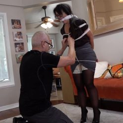 Rope bondage - Milf Gigi Lyn – Home Owners Association - MILF is tied up with lots of rope and humiliated GNDB0502