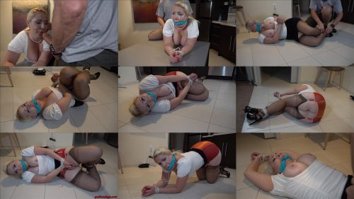 Bound  Dolce Vandela is ready to be fucked again– She wanted to be tied up and played with GNDB0470