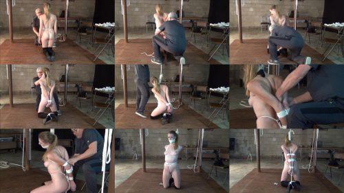 Ashley Magicians Assistant Audition - Part 1 - The Tapout - New Sexy Escape Challenge Act