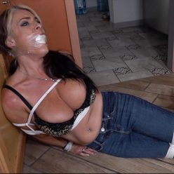 found the lady next door bound and gagged! GNDB0475
