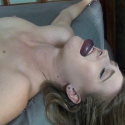 Ashley Magicians Assistant Audition - Part 3 - The Spread Eagle - Fun lets watch her squirm n squeal in a spread eagle orgasm