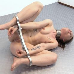 Vulnerable position - Roxy C – The RigidSpreader - Escape challenge -Any special wishes or fantasies for cutie