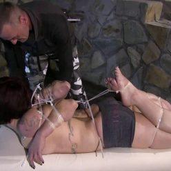 Just another Ziptie Challenge - Supertight Bondage - The Challenge - Predicament Bondage
