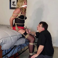 Rope Bondage - Dakkota Grey is Hogtied – You're Not My Husband!!