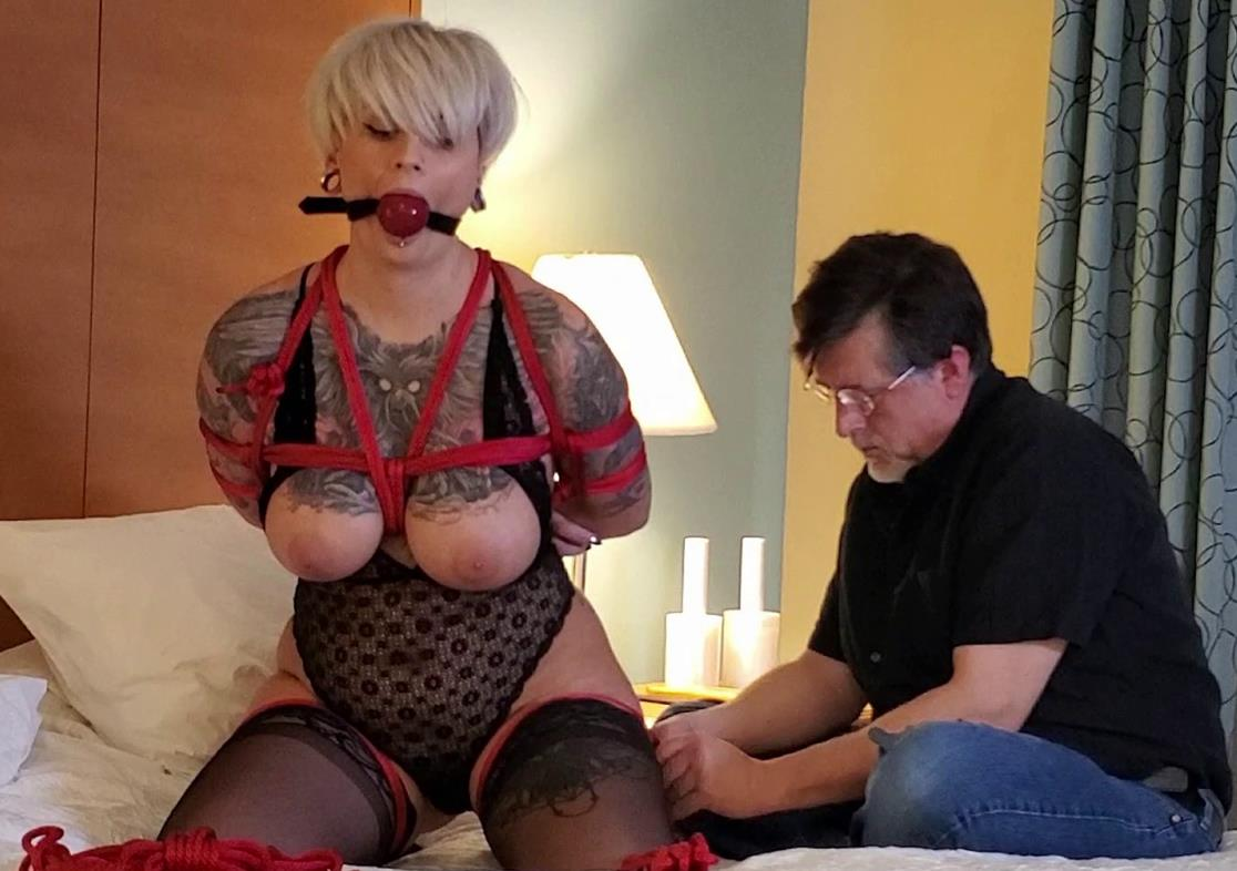 Sensual Bondage - Ava Minx is Cinched and Secured with Tight Crotch Rope - Ava's Silent Submission
