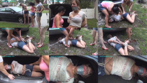 Big mistake - Naive 19 year old got more than a flat tire - Female bondage - Cutie blonde  is shocked and securely bound up with  ropeBig mistake - Naive 19 year old got more than a flat tire - Female bondage - Cutie blonde  is shocked and securely bound up with  rope
