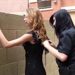 Summer resist arrest! - Prisonteens - Summer is Arrested by Officer Scarlett - Officer Scarlett tightens her cuffs