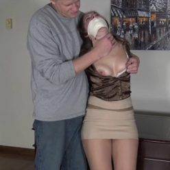 Rachel Adams is Tightly Bound: Rope Ravaged in the Office - Struggle to Rachel's heart's content