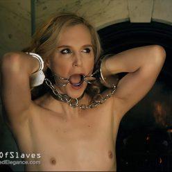 Female Bondage - #GameOfSlaves: Slave ArielAnderssen, Mistress HannahClaydon13 - The Perfect Gag forSlave - Can Hannah find the perfect gag for Ariel?