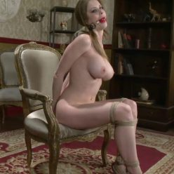 Candy Store - Rope Bondage - Perfect Slave – Encore, Emily, Encore – Emily Addison is binded tightly and gagged
