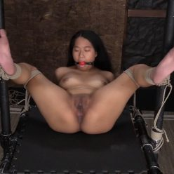 Szandor dominates with his ropes - Society SM – Intense BDSM with Alona – Alona Bloom thoroughly enjoys being bound, powerless as well as tormented